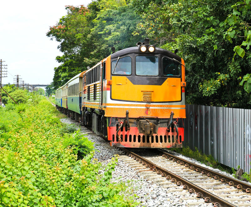 Train In Thailand Stock Photos