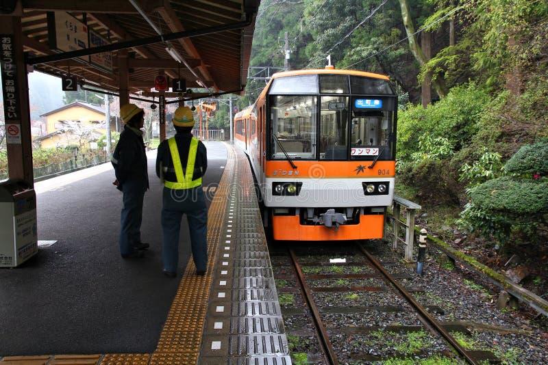 Train to Kurama royalty free stock photo