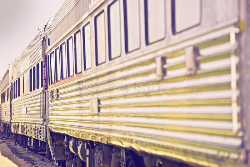 Train to Nowhere royalty free stock photos