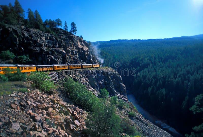 Train to Silverton stock image