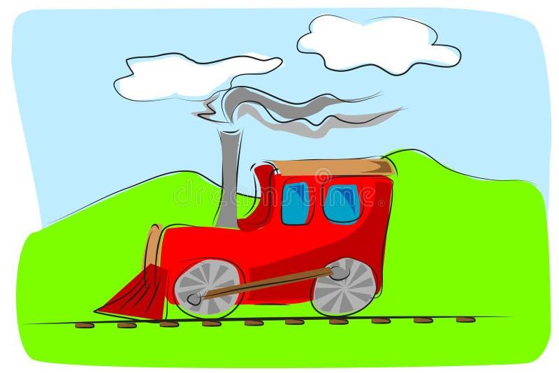 Download Train Toy Kids Illustration Stock Vector - Illustration: 7435541