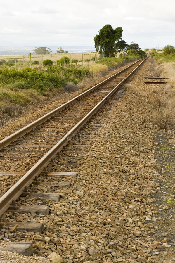Free Train Track Royalty Free Stock Photography - 6075187