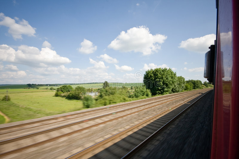 Download Train Track Stock Image - Image: 8808651