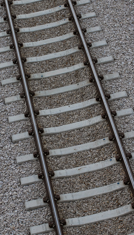 Free Train Track Closeup Stock Images - 5802344