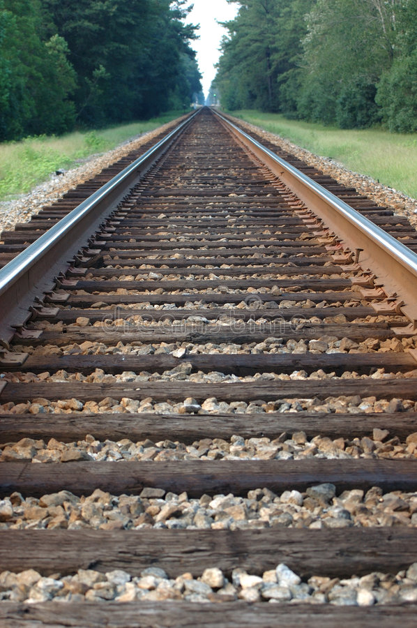 Download Train Tracks 1 Stock Images - Image: 204764