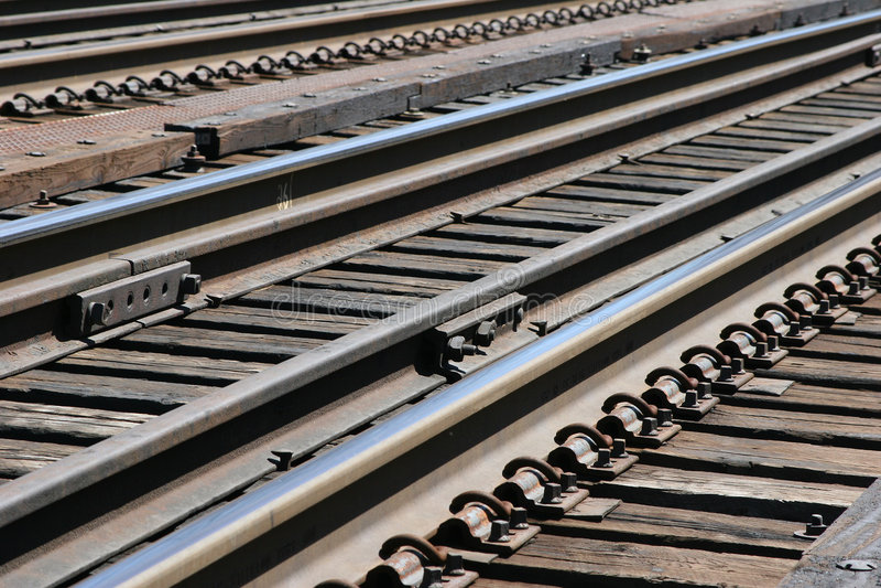 Download Train Tracks stock image. Image of trees, ties, transportation - 119161