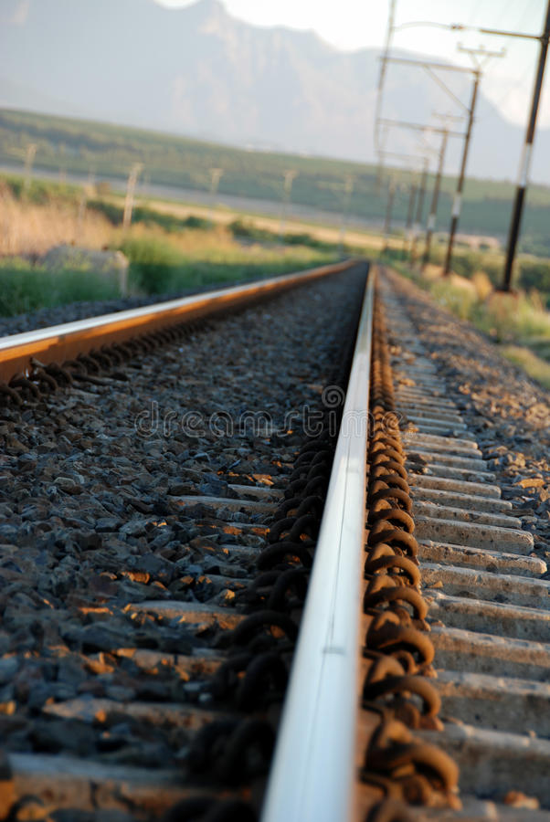 Download Train Tracks stock image. Image of industry, freedom - 13918329