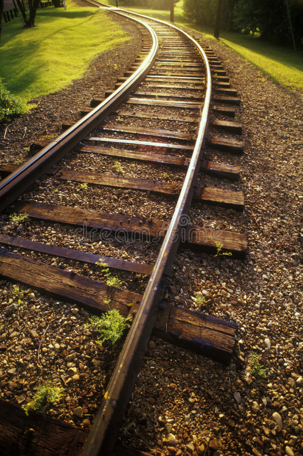 Free Train Tracks Royalty Free Stock Photos - 1447018