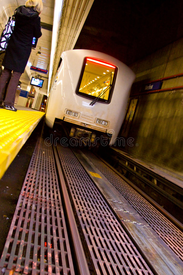 Download Train On The Tracks Royalty Free Stock Photos - Image: 7294478