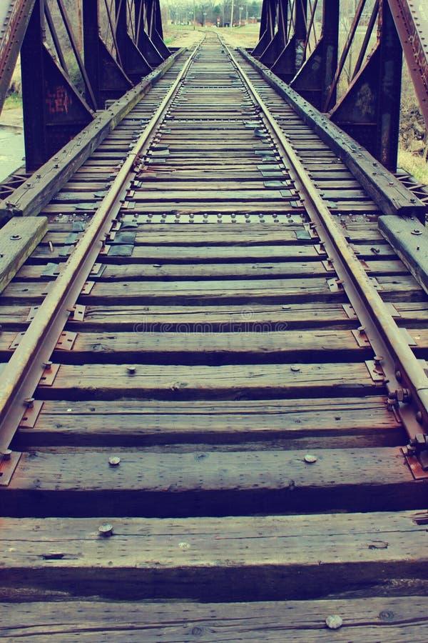 Train Tracks stock images