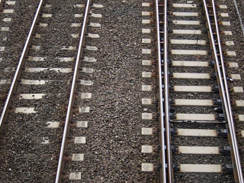 Train Tracks Minimalistic royalty free stock photography