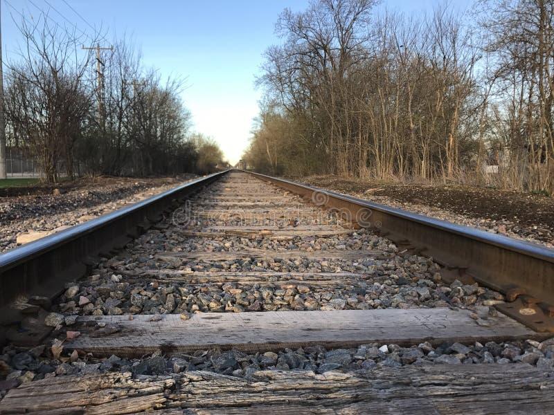 Train tracks royalty free stock image