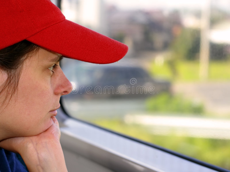 Download Train travel stock image. Image of profile, nose, girl - 1647895