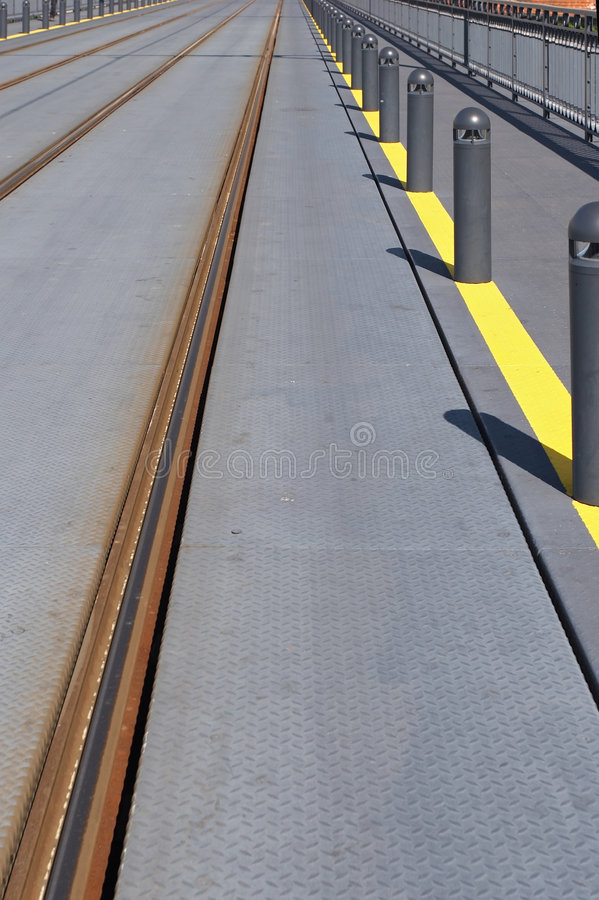 Download Train or trolley track stock photo. Image of walk, rail - 1665322