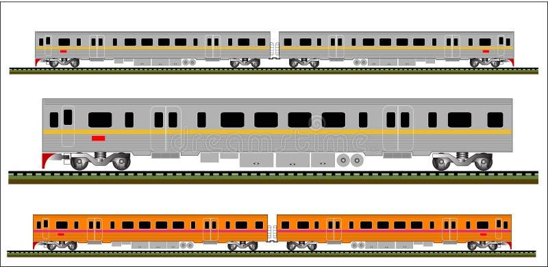 Train vector stock illustration