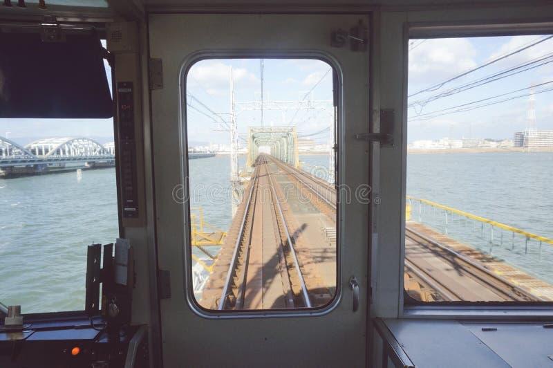 Train vers Osaka image stock