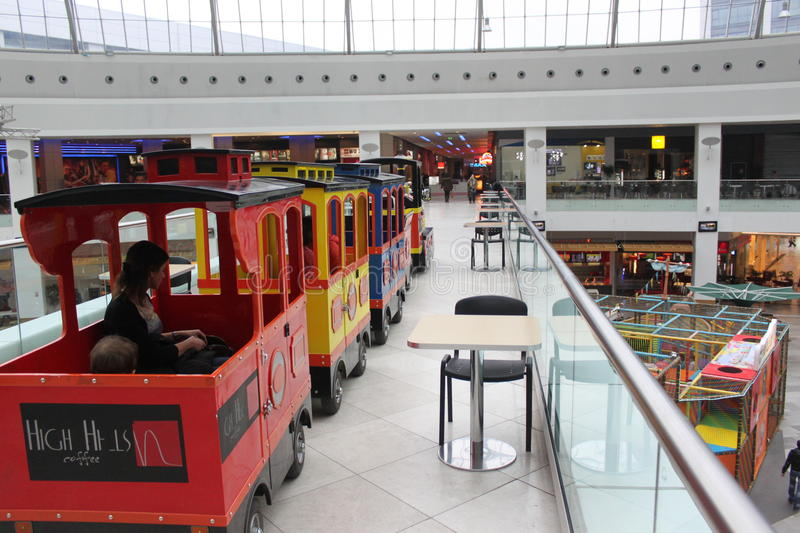Download Train For Walking In The Mall Editorial Image - Image: 29403615