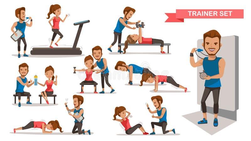 trainer stock illustratie