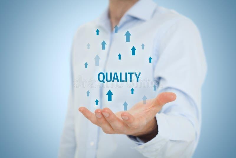 Trainer motivieren zur Qualitätsverbesserung stockbilder