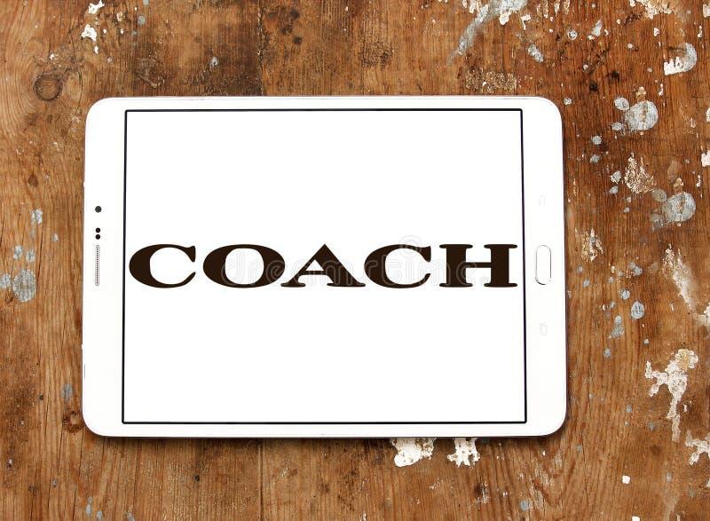 Trainer-New York-Modemarkenlogo stockbild