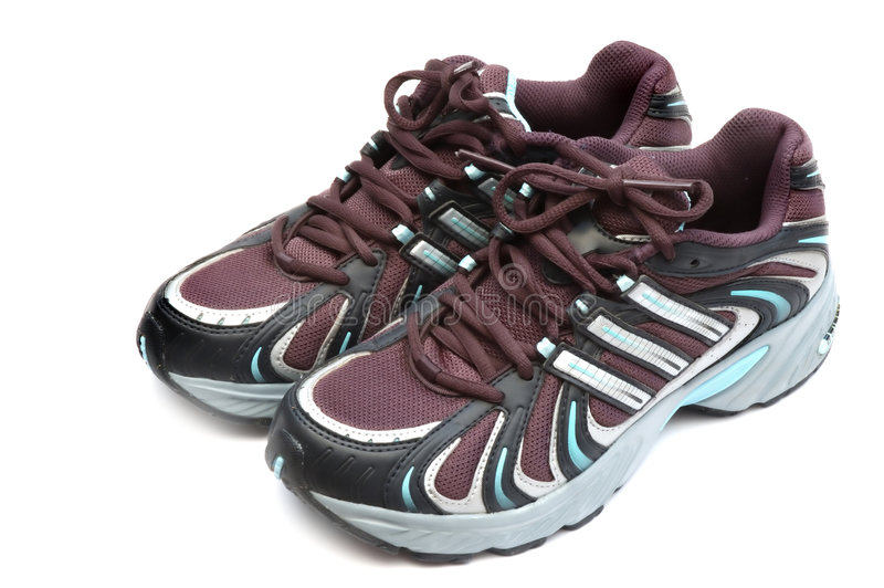Download Trainers stock image. Image of equipment, isolated, sneaker - 514879