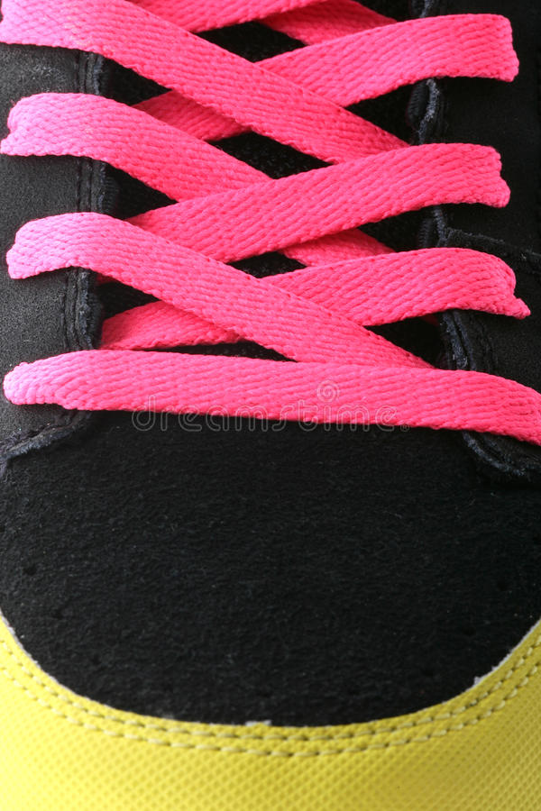 Download Trainers boot laces stock image. Image of lifestyle, objects - 24700387