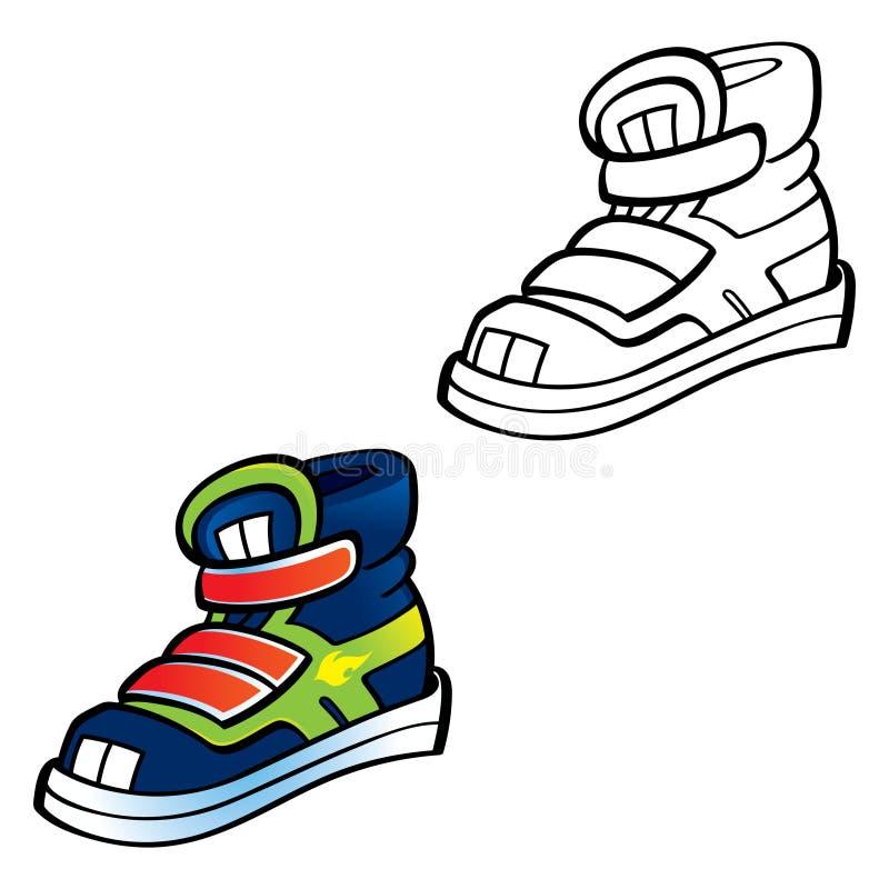 Download Trainers Sneaker Sport Shoe Stock Vector - Image: 21402698