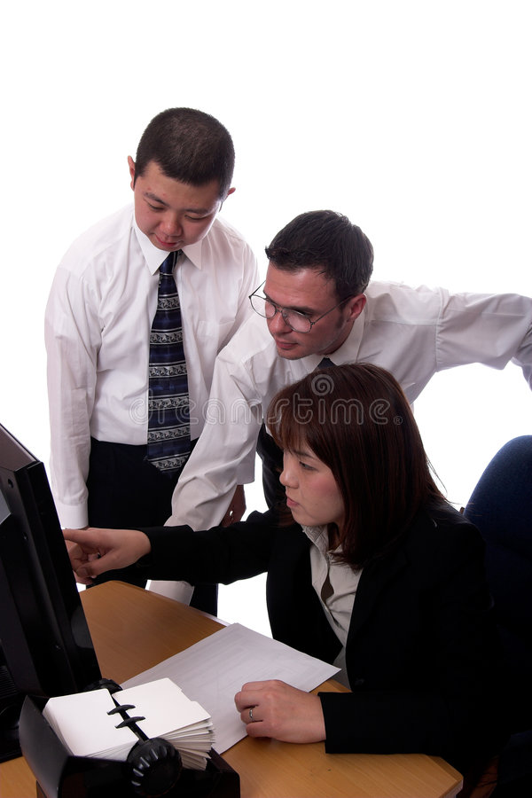 Download Training 2 stock image. Image of ethnic, group, pointing - 1364429