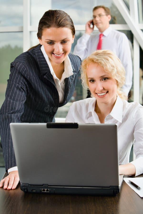 Download Training stock photo. Image of explaining, caucasian, happy - 3244380