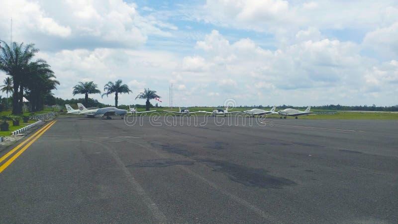 Training Aircraft stock image