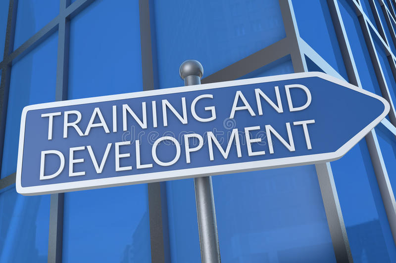 Training and Development royalty free stock photography