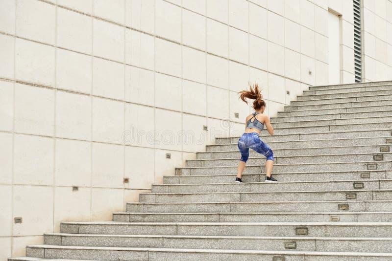 Training girl royalty free stock photography
