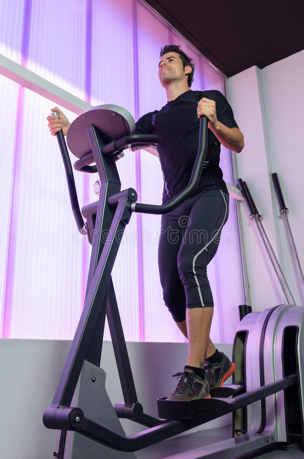 Download Training in Gym stock image. Image of adult, smile, cheerful - 25735833