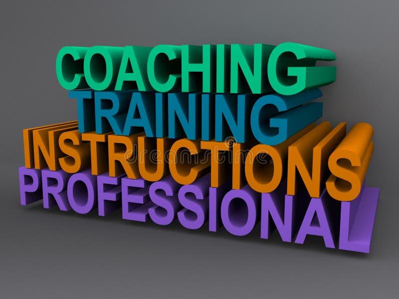 Training illustration vector illustration