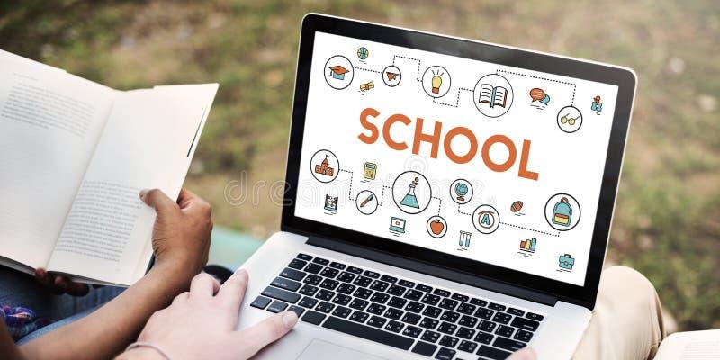 Training School Development Literacy Wisdom Concept stock photos