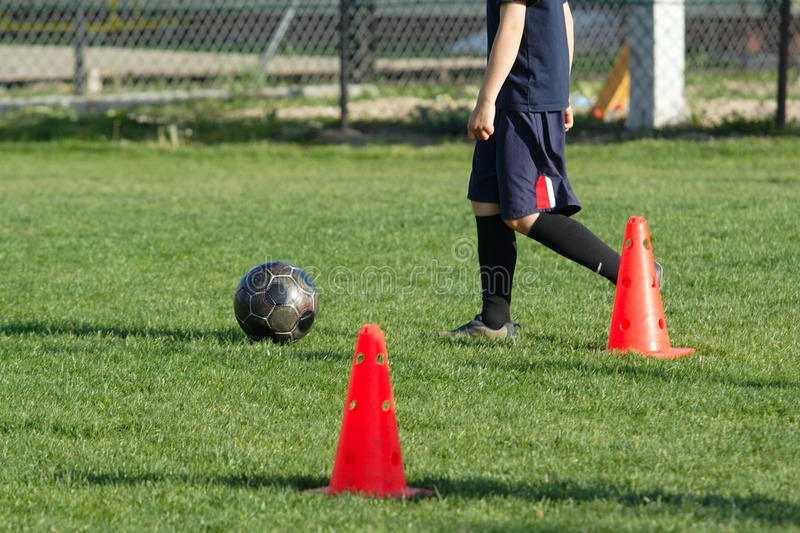 Download Training Soccer stock photo. Image of shoe, physical, male - 9642208