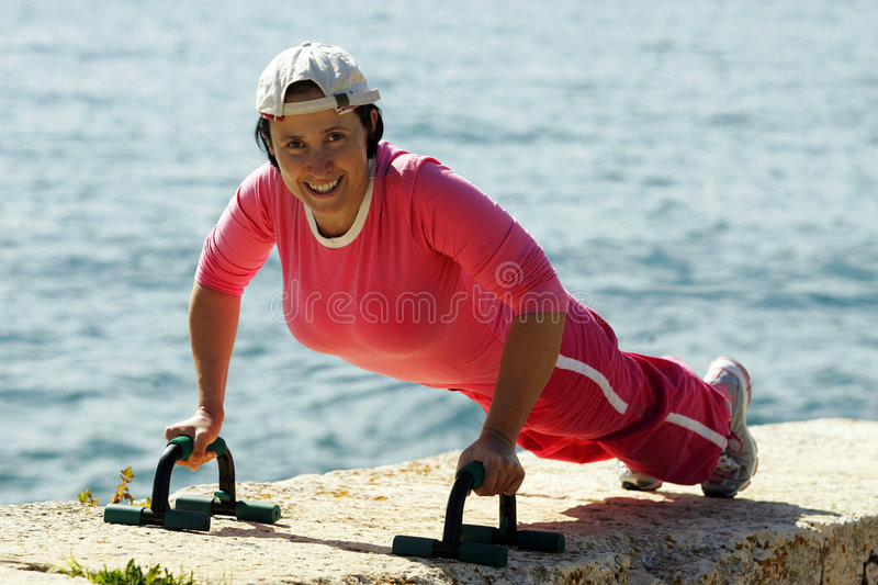 Download Training To Win Competition Stock Image - Image of lifestyle, girl: 4940621