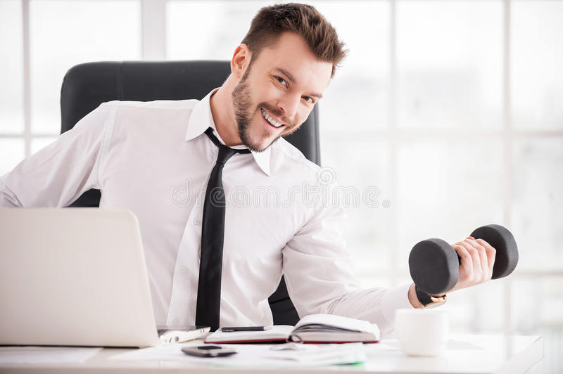 Download Training At The Working Place. Stock Photo - Image: 38430846
