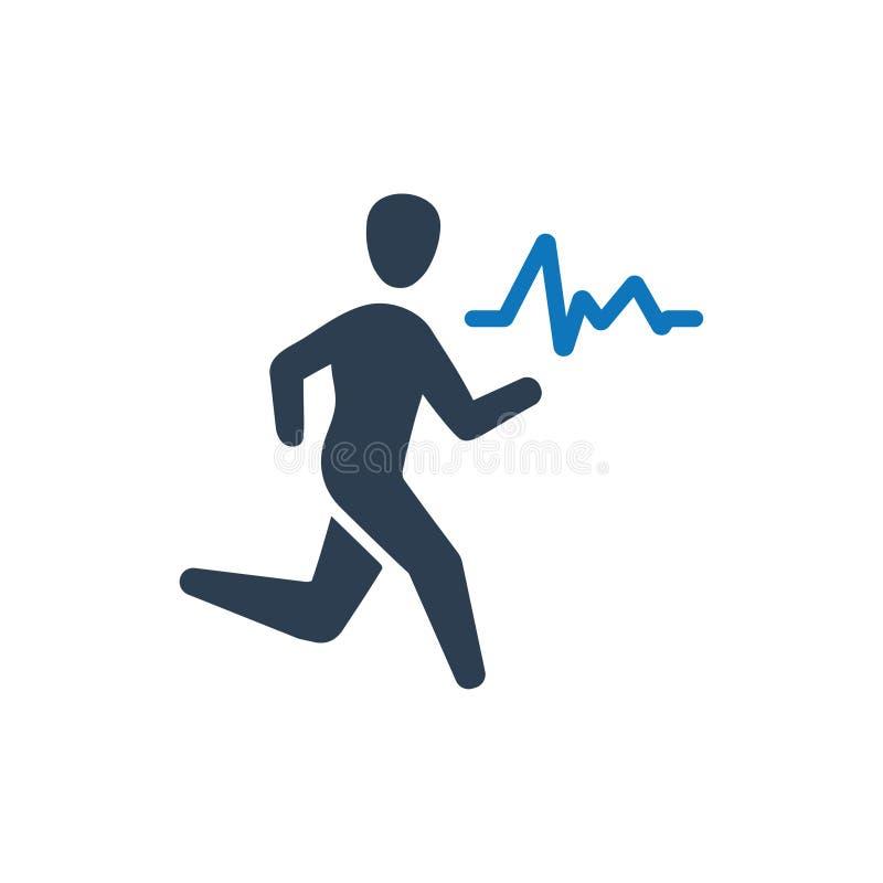 Trainings-/Übungs-Ikone lizenzfreie abbildung