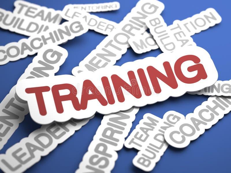 Trainings-Konzept. stockfotografie