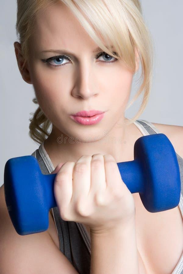 Trainings-Mädchen stockfotos