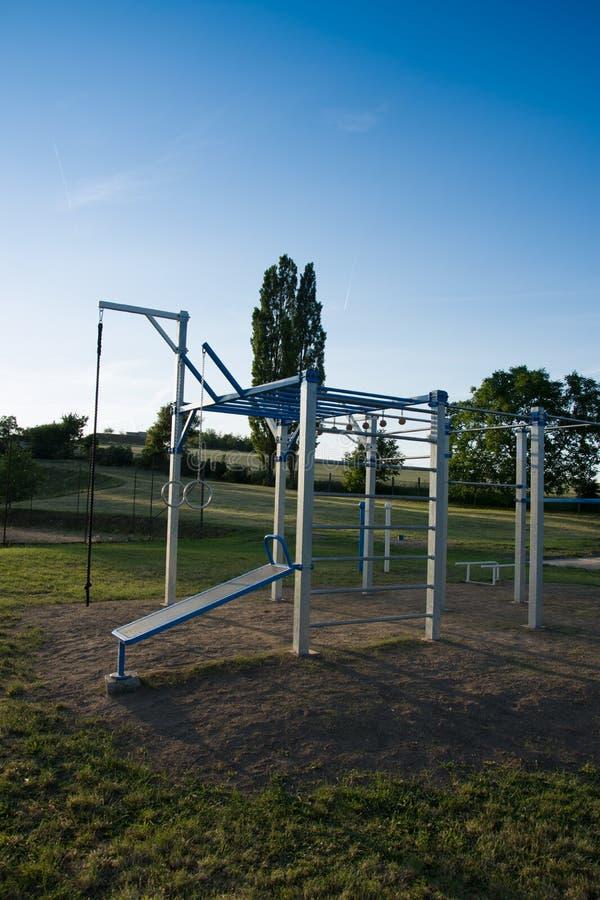 Trainingspeelplaats voor het bodybuilding royalty-vrije stock foto