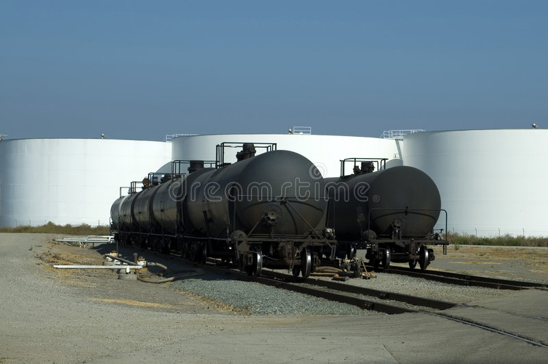 Download Trains Black Tanks White stock image. Image of engineering - 1245803