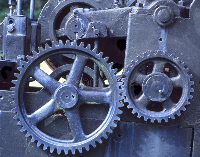 Trains bleus images stock