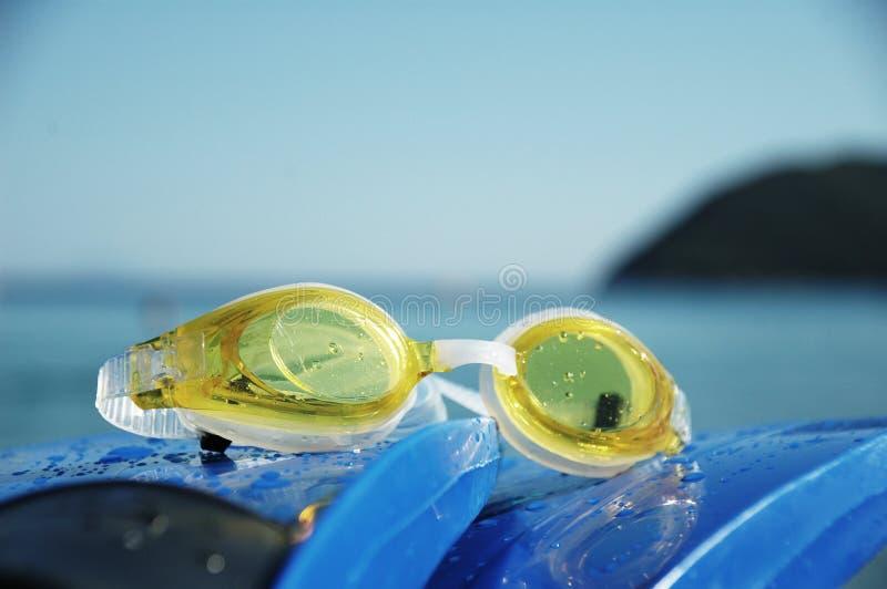 Trains de natation photo libre de droits