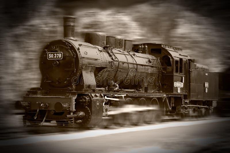 Trains de vapeur photos stock