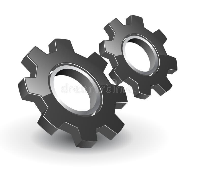 Trains du logo 3D
