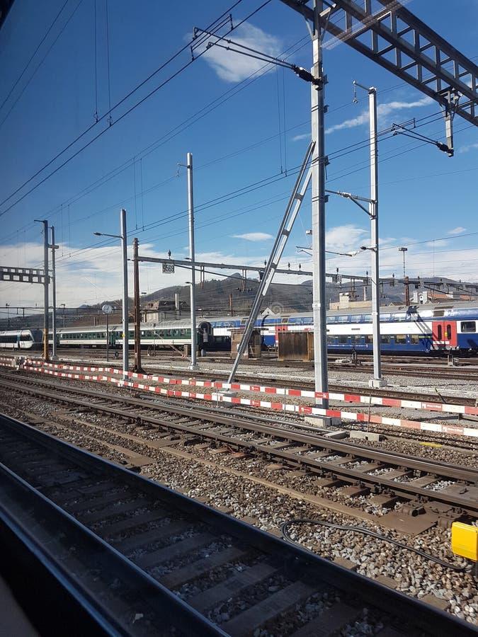 TrainStation fotografie stock
