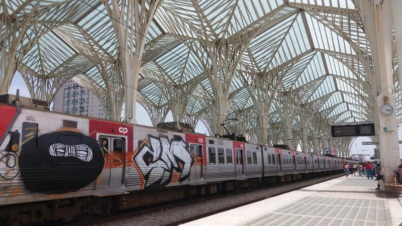 TrainStation photographie stock
