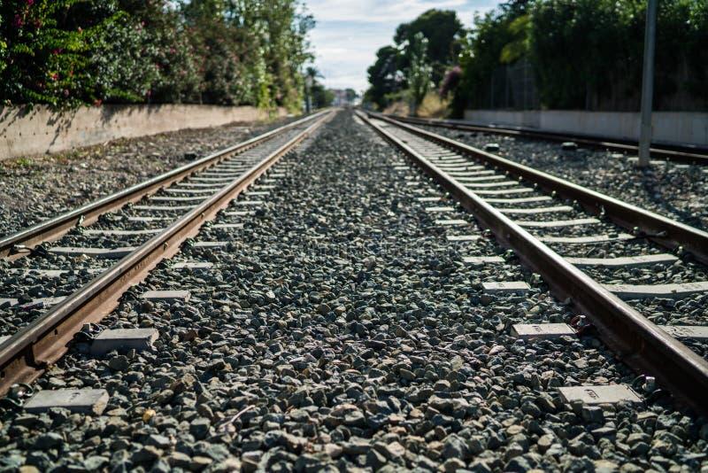 Traintrack Altea стоковые изображения